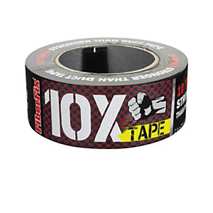 Fiber Fix Tape - Red and Black 18m