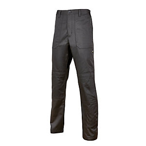 Rhino Worker Trousers Black Reg Leg