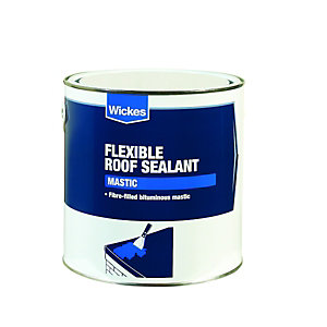 Wickes Flexible Roof Mastic Sealant 2.5L