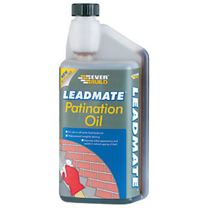 Everbuild Lead Mate Roofing Patination Oil - 1L