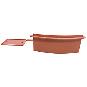 Easy-Trim Verge U  Terracotta