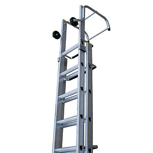 Tb Davies Trade Aluminium Double Extension Ladder - Max Height 4.83m