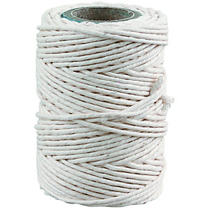 Wickes General Purpose White Cotton Twine - 3m