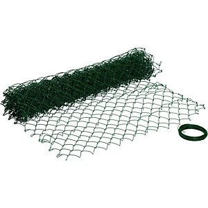 Wickes PVC Coated Chain Link Fencing - 1.2m x 10m