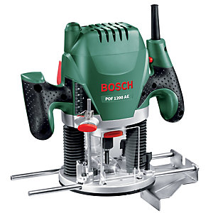 Bosch POF 1200 AE 1/4in Corded Plunge Router - 1200W