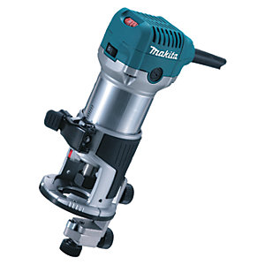 Makita RT0700CX4/2 1/4in Corded Fixed Base Router 240V - 710W