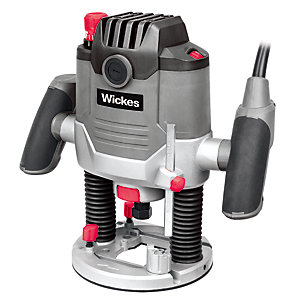 Wickes Multi-Purpose 1/2in Corded Plunge Router - 1500W
