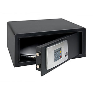 Burg-Wachter Pointsafe Electronic Home Safe - 27.9L Black