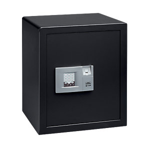 Burg-Wachter Pointsafe Electronic Home Safe with Fingerscan - 57.9L Black