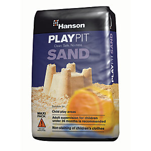 Hanson Safe & No Mess Play Pit Sand - 25kg