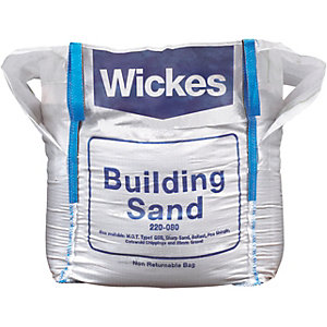 Wickes Yellow Building Sand - Jumbo Bag