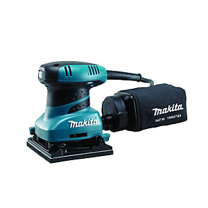 Makita BO4555 X 1/4 Corded Sheet Sander 240V - 200W