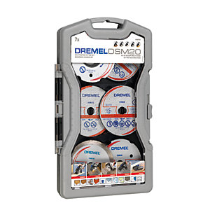 Dremel DSM20 7 Piece Accessory Set