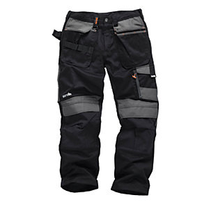 Scruffs 3D Trade Black Trousers - Short Leg