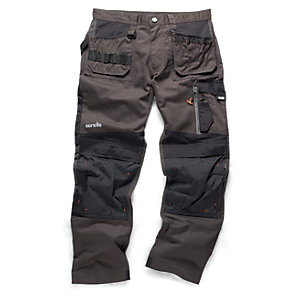 Scruffs 3D Trade Graphite Trousers - Reg Leg