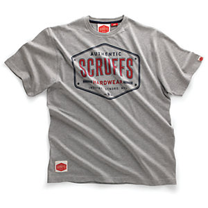Scruffs Authentic T-Shirt Grey