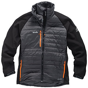 Scruffs Expedition Thermo Softshell Jacket - Grey