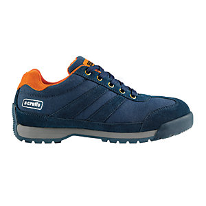 Scruffs Halo 2 Safety Trainer - Navy