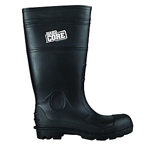 Scruffs Hardcore Safety Wellington Boot - Black