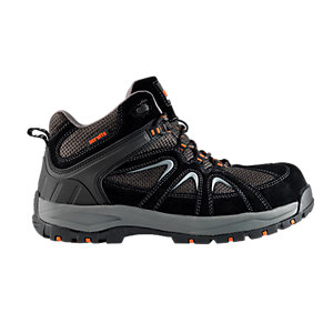 Scruffs Soar Safety Trainer - Black