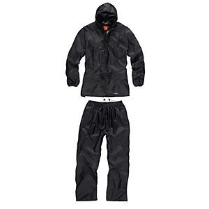 Scruffs Two Piece Rain Suit Yellow