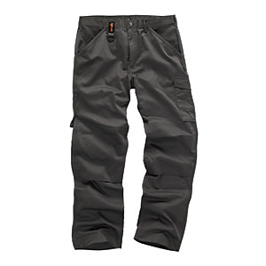 Scruffs Worker Graphite Trousers - Long Leg