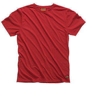 Scruffs Worker T-Shirt - Red