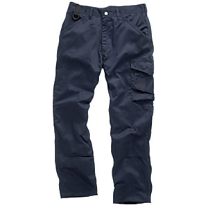 Scruffs Worker Trousers Navy - Extra Long Leg