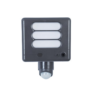 Lutec LED Floodlight with Wireless CCTV - 25W