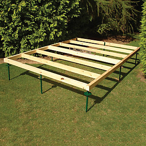 Shire Adjustable Base for 10 ft x 7 ft Sheds