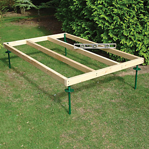 Shire Adjustable Base for 6 ft x 4 ft Sheds