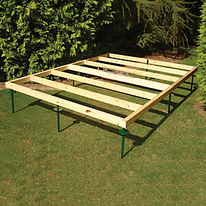 Shire Adjustable Base for Summerhouses & Sheds - 7 ft x 7 ft
