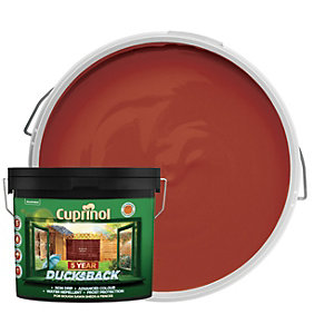 Cuprinol 5 Year Ducksback Matt Shed & Fence Treatment - Autumn Brown 9L