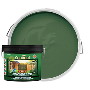 Cuprinol 5 Year Ducksback Matt Shed & Fence Treatment - Forest Green 9L