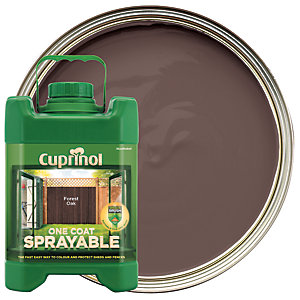 Cuprinol One Coat Sprayable - Forest Oak 5L