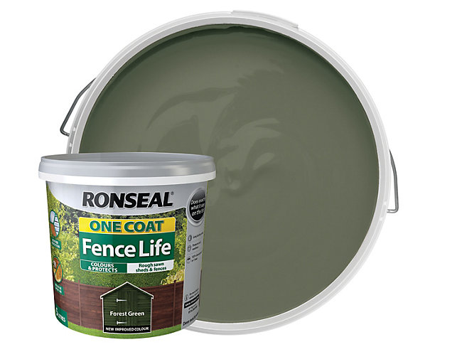 Ronseal One Coat Fence Life 5 L