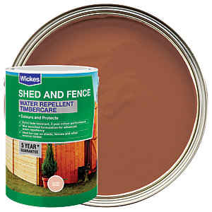 Wickes Water Repellent Timbercare - Golden Brown 5L