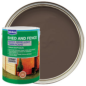 Wickes Water Repellent Timbercare - Light Brown 5L