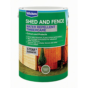 Wickes Water Repellent Timbercare - Sherwood Green 5L
