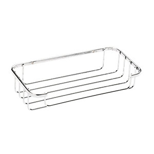 Croydex Rust Free Cosmetic Shower Basket - Chrome 250mm