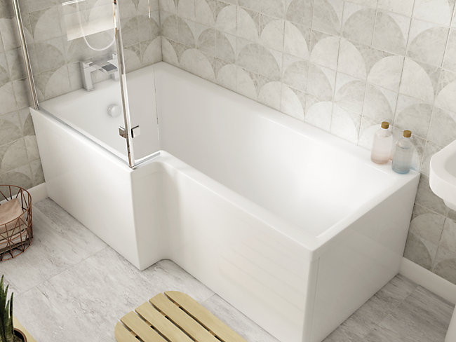 Baths baths and accessories - Which uses more water bath or shower ...