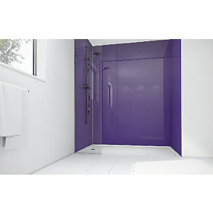 Wickes Plum Acrylic Panel 2400x900mm