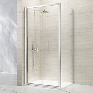 Nexa By Merlyn 8mm Bifold Chrome Framed Shower Door Only - 800mm
