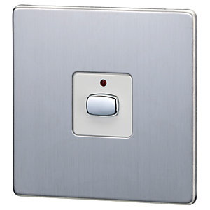 Energenie Mihome Radio Controlled Smart Single Light Switch - Steel