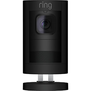 Ring Stick Up Smart Security Cam Battery - Black