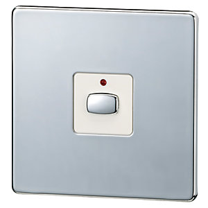 Energie Mihome Radio Controlled Smart Switch - Chrome