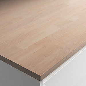 22mm Engineered Oak With White Oil Worktop 610mm X 3m