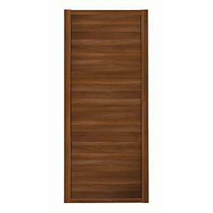 Spacepro Shaker 3 Panel Walnut Frame Walnut Door