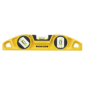 Stanley FatMax Torpedo Spirit Level - 250mm