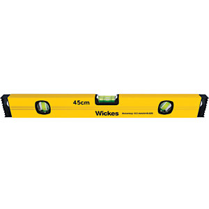 Wickes Lightweight Spirit Level - 450mm